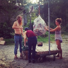 The making of the Piñata